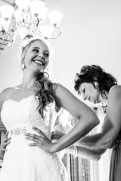 Van Wyk Wedding Dress, Make-Up and Hair -14